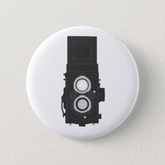 Twin-Lens Reflex Camera (TLR) 2 Inch Round Button