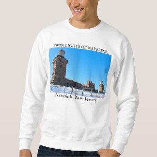 Twin Lights of Navesink, New Jersey Sweatshirt