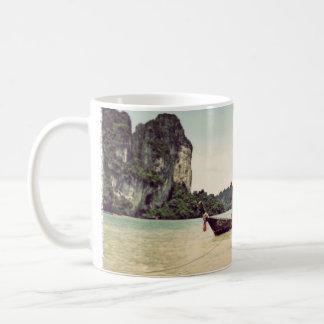 Twin Long-tail Boats Coffee Mug
