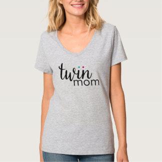 Twin Mom Boy Girl Twins Shirt
