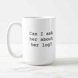 Twin Peaks Log Lady Mug