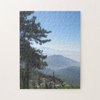Twin Peaks Mountain Vista Jigsaw Puzzle