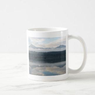 Twin Peaks near Bridge of The Gods Coffee Mug