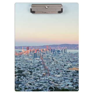 Twin Peaks San Fransisco Clipboard