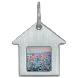 Twin Peaks San Fransisco Pet Tag