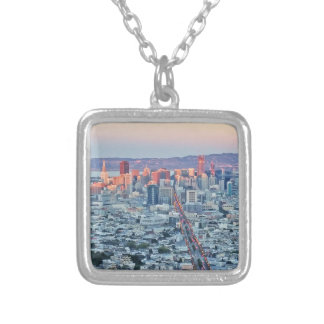 Twin Peaks San Fransisco Silver Plated Necklace