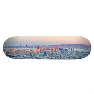 Twin Peaks San Fransisco Skate Board Deck