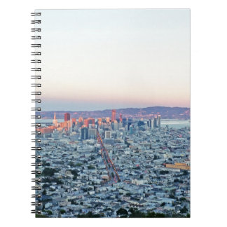 Twin Peaks San Fransisco Spiral Note Books