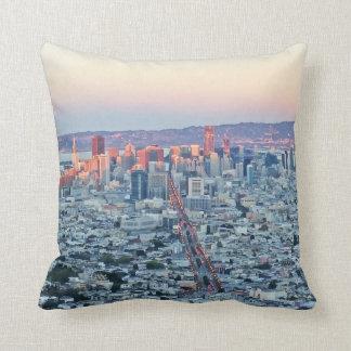 Twin Peaks San Fransisco Throw Pillow