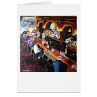"""Twin Peaks Tavern"" by Trina Chow Card"