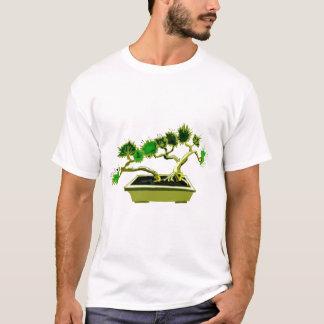 Twin Pine Bonsai Rectangle Pot T-Shirt