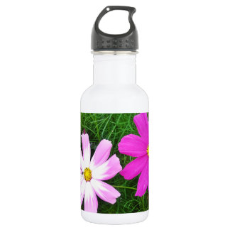 Twin Pink Cosmos Flowers 532 Ml Water Bottle