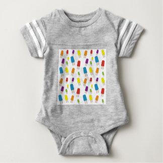 Twin Pops Pattern Baby Bodysuit