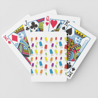 Twin Pops Pattern Bicycle Playing Cards