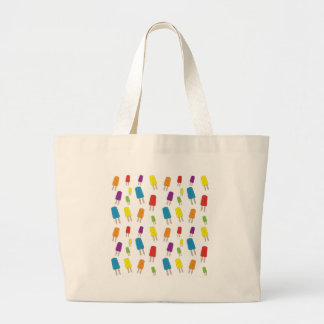 Twin Pops Pattern Large Tote Bag