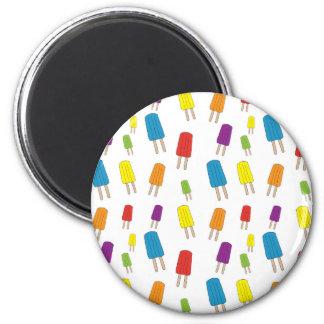 Twin Pops Pattern Magnet