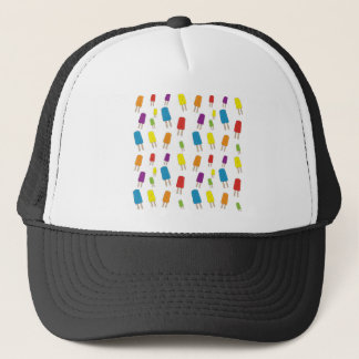 Twin Pops Pattern Trucker Hat
