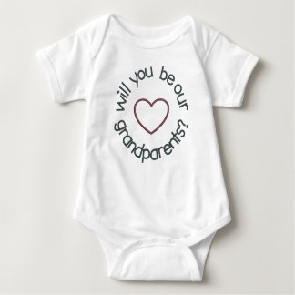 Twin Pregnancy Announcement Will You Be OUR Baby Bodysuit