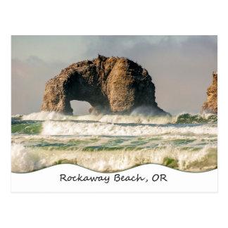 Twin Rocks Closeup Postcard