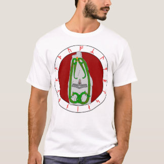 Twin Serpent Rune Stone - Shirt Front Design