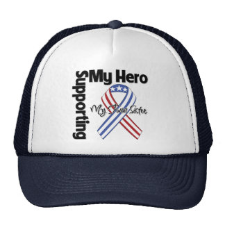 Twin Sister - Military Supporting My Hero Hats
