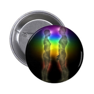 twin souls chakras first meeting 2 inch round button
