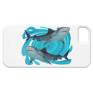 TWIN TIGER SHARKS iPhone 5 CASES