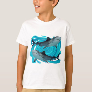 TWIN TIGER SHARKS T-Shirt