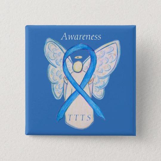 Twin to Twin Transfusion TTTS Awareness Ribbon Pin