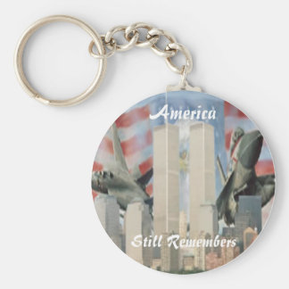 Twin Towers 9/11 Remembrance Key Chain