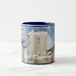 Twin Towers 9/11 Remembrance Mug