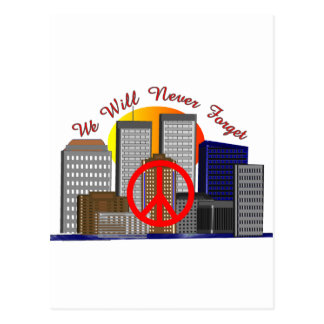 Twin Towers Art Gifts for All Ages Postcard