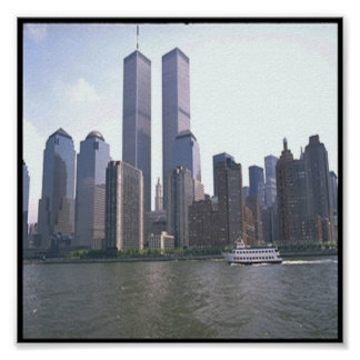 Twin Towers/New York Poster