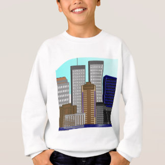 Twin Towers New York---Unique Art Gifts Sweatshirt