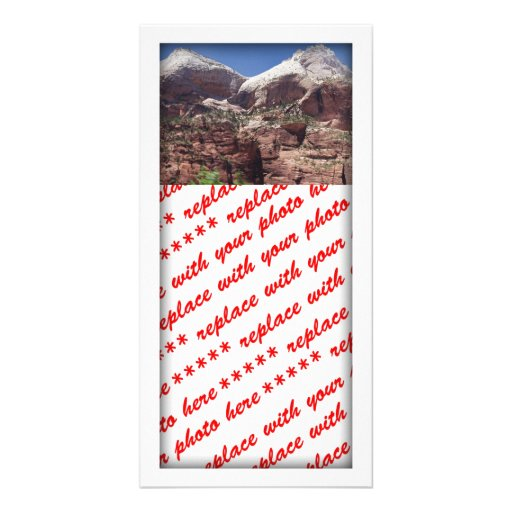 Twin Towers of the Virgin River, Zion Photo Cards