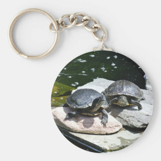 Twin Turtles - Keychain