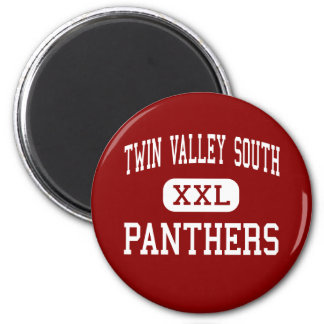 Twin Valley South - Panthers - West Alexandria 2 Inch Round Magnet