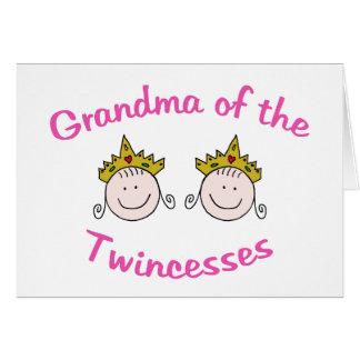 Twincess Grandma Card
