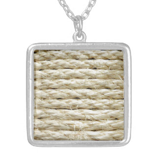 Twine Silver Plated Necklace