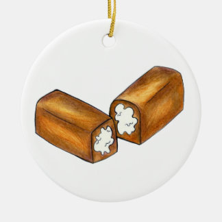 Twinkie Cream-Filled Snack Cake Food Foodie Gift Ceramic Ornament