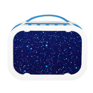 Twinkle Blue Stars - lunch box