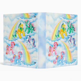 Twinkle Eyed Ponies 3 Ring Binder
