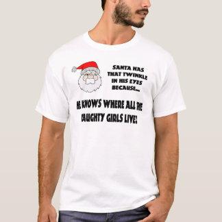 Twinkle In Santas Eye T-Shirt