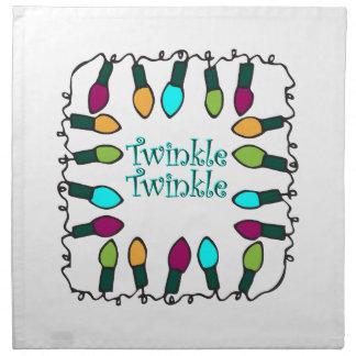 Twinkle Lights Cloth Napkins