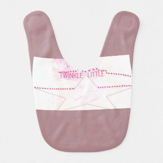 twinkle little baby bib