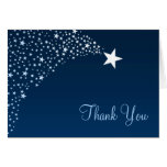 Twinkle Little Shooting Star Baby Shower Stationery Note Card