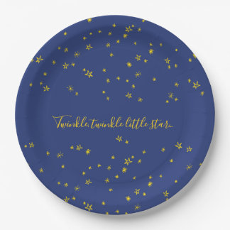 Twinkle Little Star Baby Shower Paper Plates