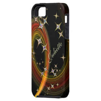 Twinkle Little Star - bling art with custom name Case For The iPhone 5