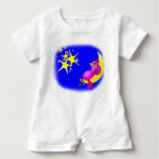 Twinkle Little Star by The Happy Juul Company Baby Romper