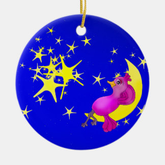 Twinkle Little Star by The Happy Juul Company Ceramic Ornament